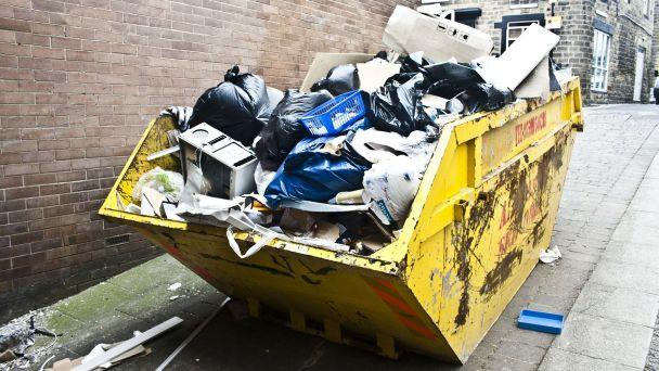 Vývoz nadrozmerných odpadov